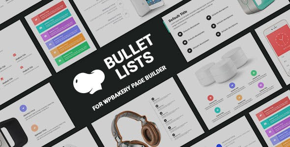 Bullet List for WPBakery Page Builder (Visual Composer)
