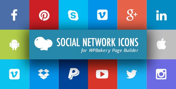 Social Network Icons for WPBakery Page Builder (Visual Composer)