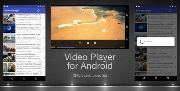 Make A Vimeo Video Player Android App With Android App Templates