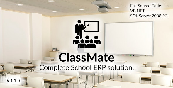 ClassMate - Complete School ERP solution - CodeCanyon Item for Sale