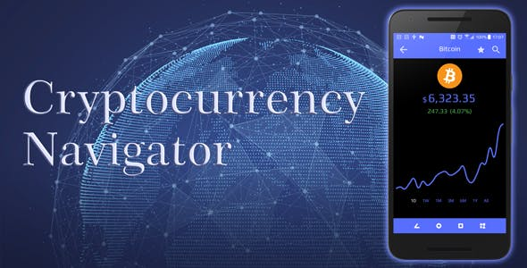 Crypto Navigator | Cryptocurrency Android Mobile App