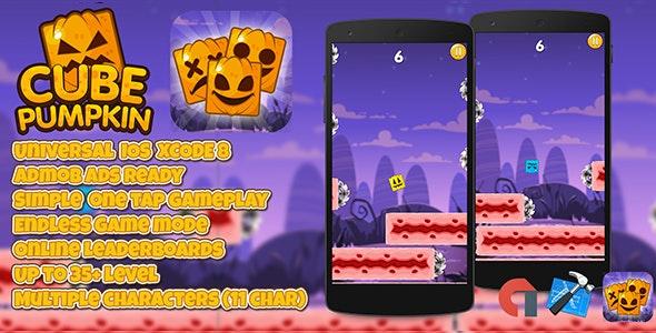 Cube Pumpkin + Admob (IOS XCODE 8) Multiple Characters
