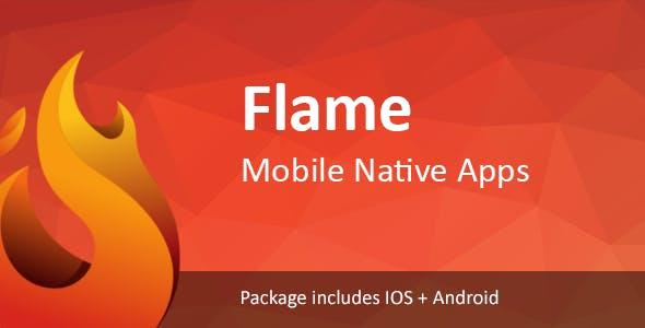 Flame Mobile Bundle Applications  Viral Media /News/Music/Video /Quizzes Script