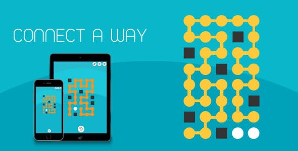 Connect A Way - HTML5 Game