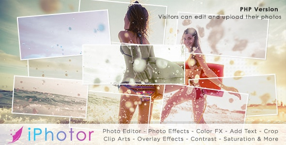 iPhotor - Photo Effects & Editor PHP - CodeCanyon Item for Sale