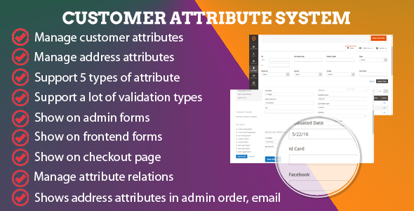 Magento 2 CE Customer Attribute System