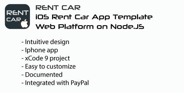 RentCar | iOS + Web Rent Car Template