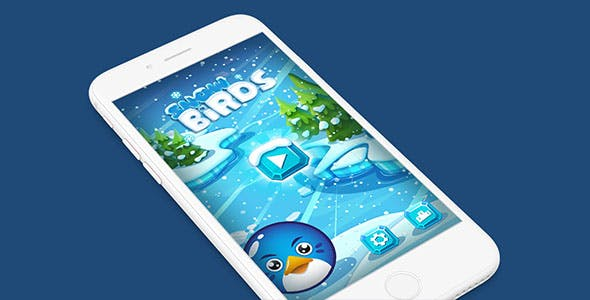 SNOW BIRDS WITH ADMOB - IOS XCODE FILE