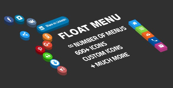 Floating side menu - easily creating awesome custom menu