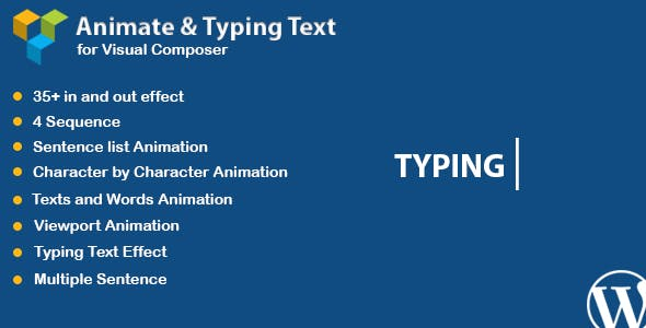 WPBakery Page Builder - Animated Text and Typing Effect (formerly Visual Composer)