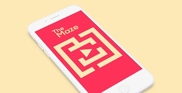 THE MAZE WITH ADMOB - IOS XCODE FILE