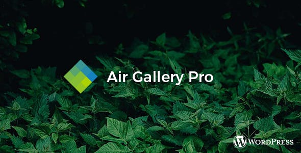 Air Gallery Pro - Wordpress gallery plugin