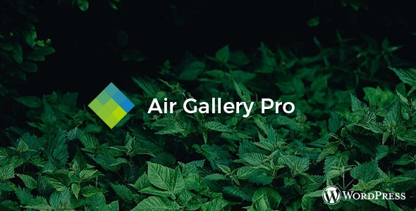 Air Gallery Pro - Wordpress gallery plugin - CodeCanyon Item for Sale