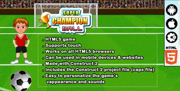 Super Champion Ball - CodeCanyon Item for Sale