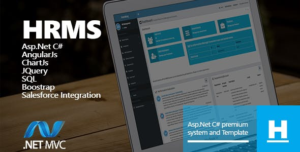 Human Resources Management System HRMS Web Forms Asp.net C#