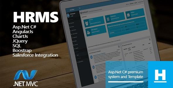 Human Resources Management System HRMS Web Forms Asp net C#