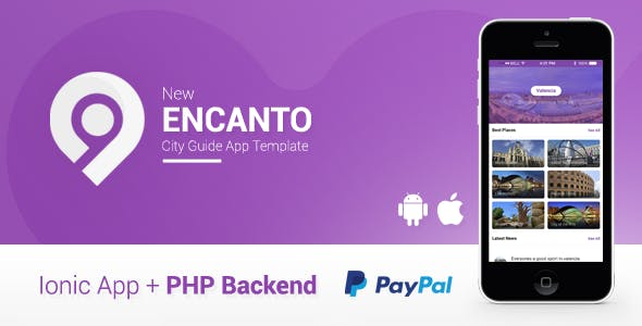 Encanto | City Guide App + Offers Deals + Admin Panel | Ionic 1