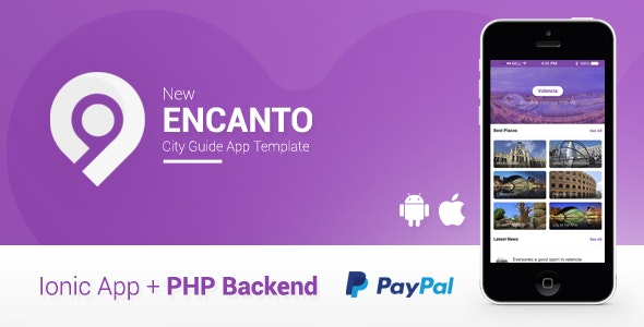 Encanto | City Guide App + Offers Deals + Admin Panel | Ionic 1 - CodeCanyon Item for Sale
