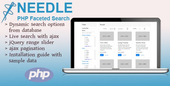 Needle - PHP Faceted Search