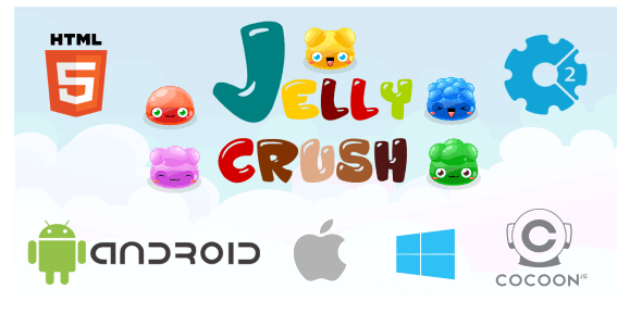 Jelly Crush - Game HTML5 (CAPX)