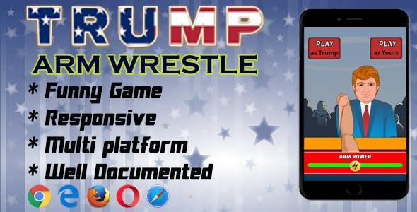 Trump Arm Wrestle