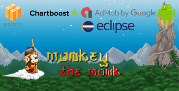 Monkey The Monk - Buildbox Game Template + Android Eclipse Project Template (BBDOC)