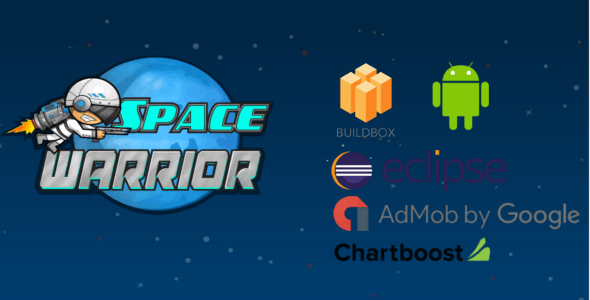 Space Warior - Buildbox Game Template + Android Eclipse Project Template (BBDOC)
