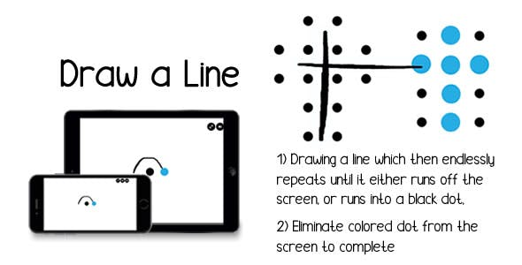 Draw a Line - HTML5 Game