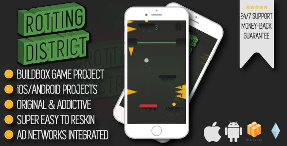 Rotting District - iOS/Android/Buildbox Game Project