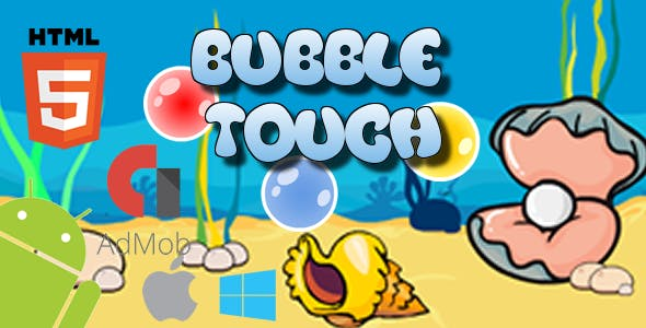 Bubble Touch - HTML5 Game