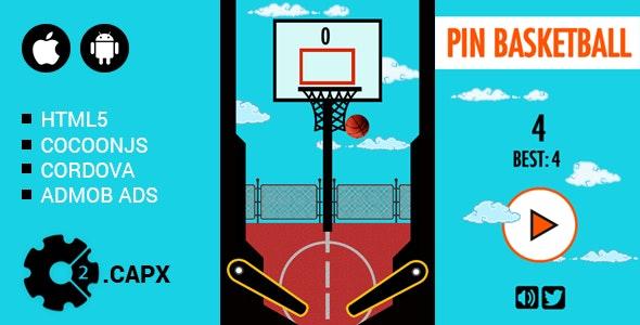Pin Basketball - CodeCanyon Item for Sale