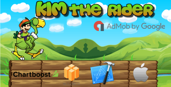Kim The Rider- Buildbox Game Template + iOS Xcode Project Template (BBDOC)
