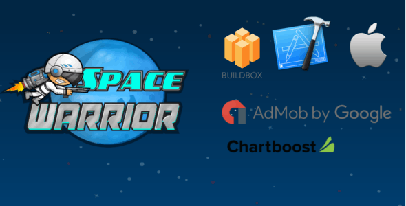 Space Warrior - Buildbox Game Template + iOS Xcode Project Template (BBDOC)