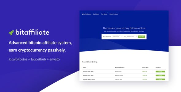 Bitcoin Affiliate System - Earn Passive Cryptocurrency