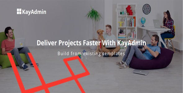 KayAdmin - Laravel admin panel, frontend + template installation support.