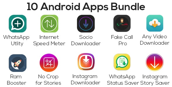 Fake Call/Any Video Downloader/WhatsApp Utility/Story Saver/Socio/Ram Booster and More - CodeCanyon Item for Sale