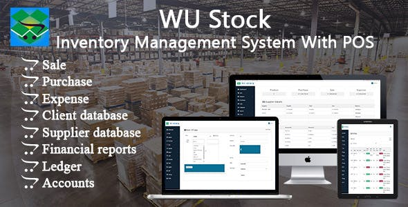 WU Stock - Inventory Management System With POS