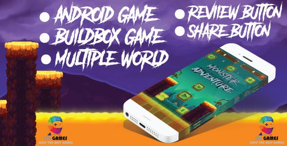 Monster adventure: android game - admob-Buildbox project