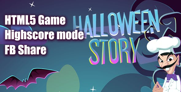 Halloween Story HTML5 Game [ MINI ]