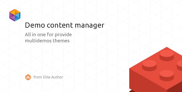 WordPress Demo Content Manager