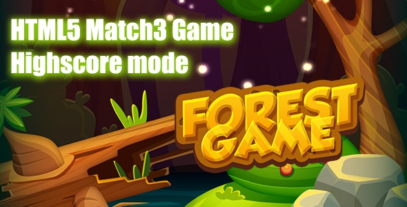 The Forest Game Match3 HTML5 Game - CodeCanyon Item for Sale
