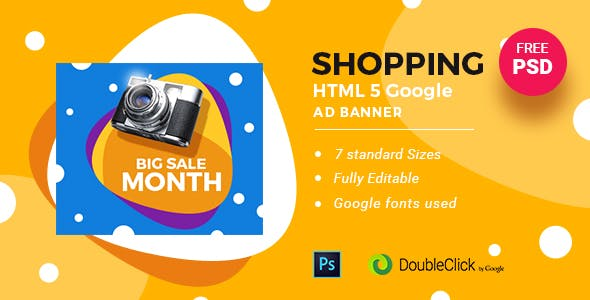 Online Shopping | HTML5 Google Banner Ad 24