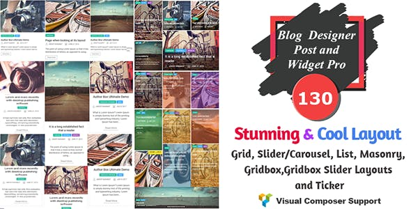 Blog Designer - Post and Widget Pro