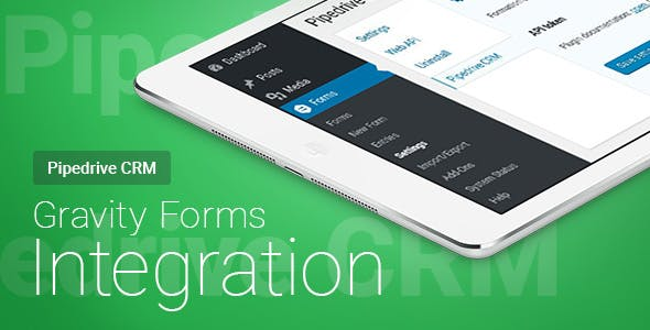 Gravity Forms - Pipedrive CRM - Integration