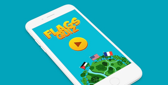 FLAGS QUIZ BUILDBOX TEMPLATE WITH ADMOB - CodeCanyon Item for Sale