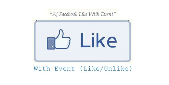 Aj Facebook Like With Event - CodeCanyon Item for Sale