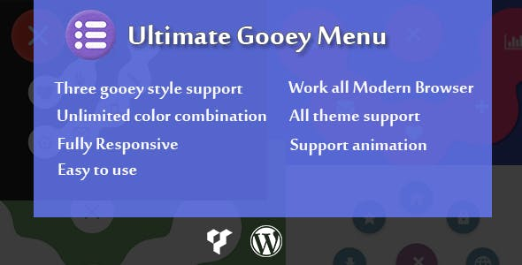 Visual Composer - Ultimate Gooey Menu - CodeCanyon Item for Sale