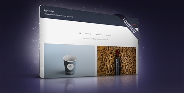 Portfolio Module for CMS pro - CodeCanyon Item for Sale