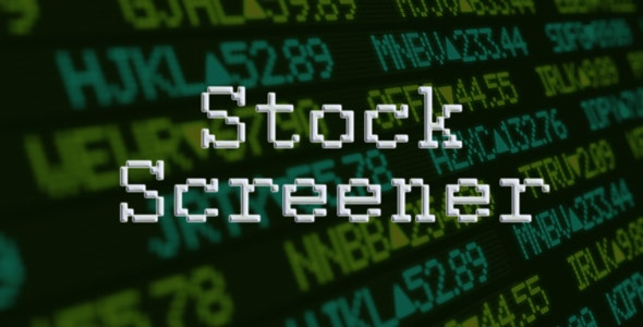 Stock Screener | Advanced Stocks Search & Filtering | PHP application - CodeCanyon Item for Sale
