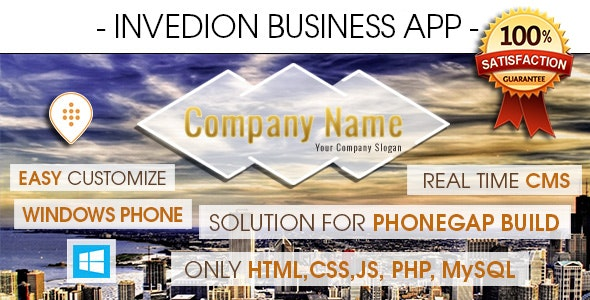 Business App With CMS - Windows Phone - CodeCanyon Item for Sale
